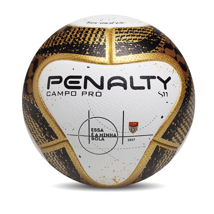 Penalty faz homenagem ao estado de São Paulo na bola da final do Paulistão 2017