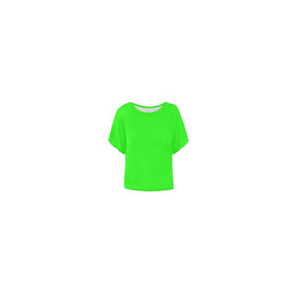 simply green 7 Women's Batwing-Sleeved Blouse T shirt (Model T43) ❤ liked on Polyvore featuring tops, blouses, green top, batwing sleeve blouse, green blouse, batwing sleeve tops and bat sleeve tops