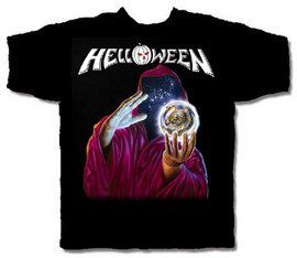 Helloween Keeper of the Seven Keys T-shirt. This brand new, officially licensed Helloween shirt is pre-shrunk and 100% cotton.