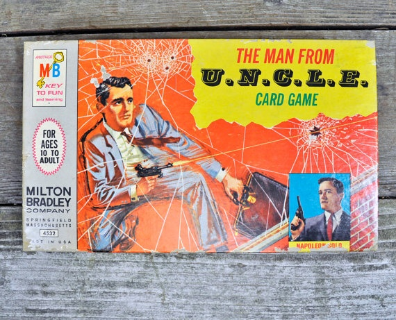 The Man From UNCLE Card Game Milton Bradley by upscaleyardsale, $16.00