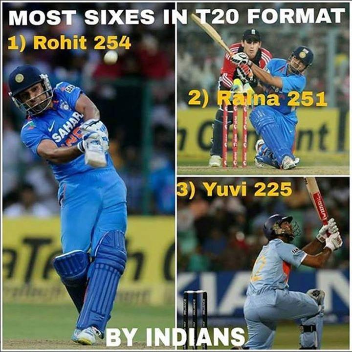 Rohit Sharma Suresh Raina & Yuvraj Singh :) For more cricket fun click: http://ift.tt/2gY9BIZ - http://ift.tt/1ZZ3e4d