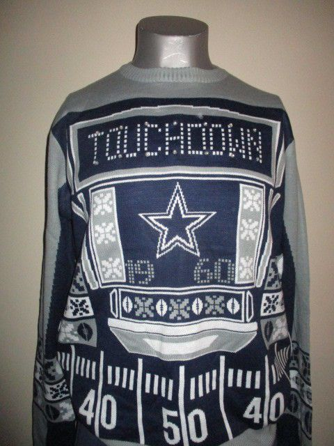 NFL Football Light Up Ugly Christmas Sweater  - Pick Your Team