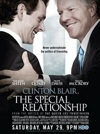 Third film from Peter Morgan featuring Michael Sheen as Tony Blair - also Denis Quaid very strong indeed as Clinton
