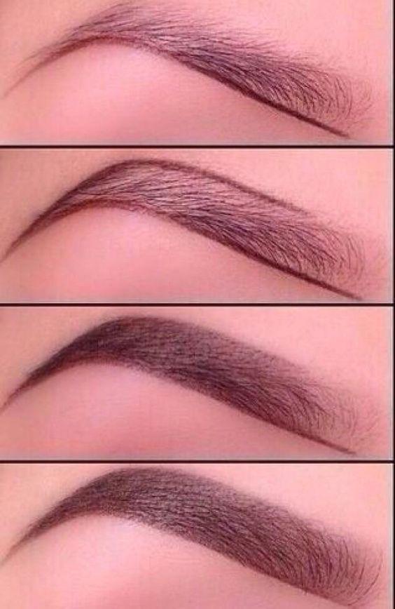 make up, макияж бровей, пошагово брови, как накрасить брови, сделать брови красивыми, накрасить брови натурально, как сделать так, чтобы брови выглядели естественно
