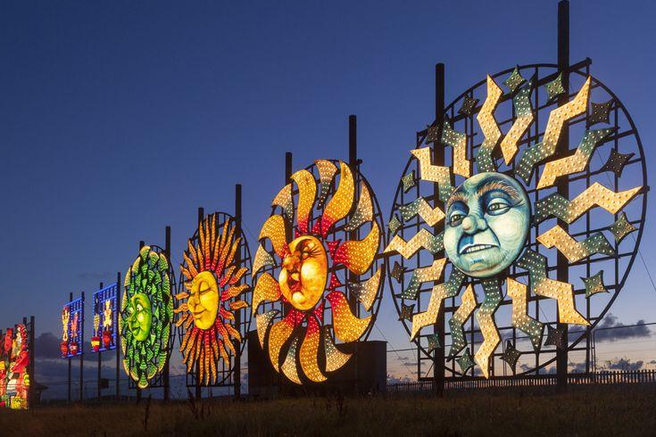 Images of Blackpool Illuminations, The Lights, The Illuminations by Blackpool photographer Yannick Dixon.