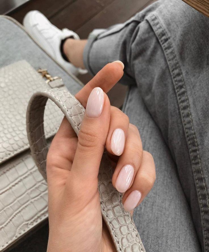 Mandelspitzen-Nägel. – #Mandelnackte # Nägel # nailsgelägel #mandelnackte # … – Nagelfarbe