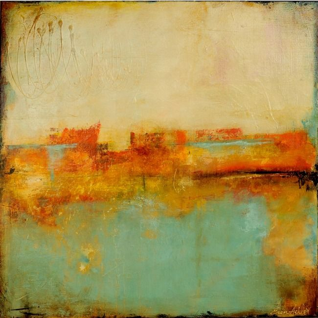 """The Bay of Noon"" by Erin Ashley via Art Journal    I love this one."
