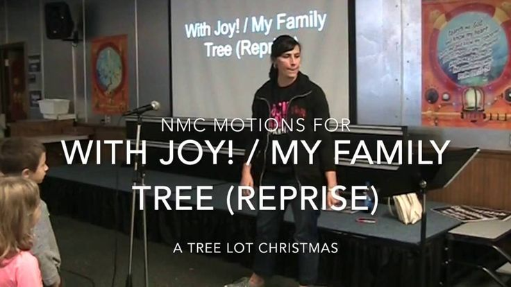With Joy (with My Family Tree)