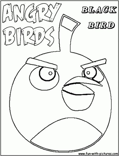 angry birds coloring pages home