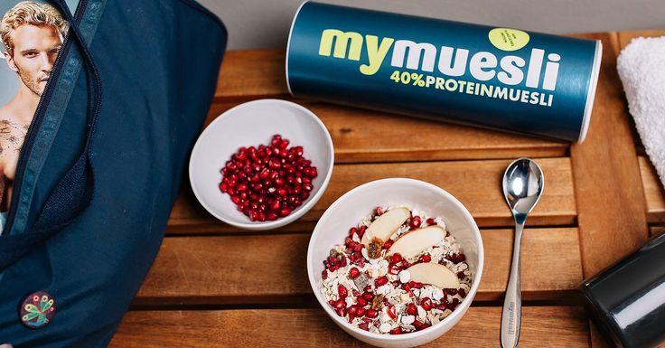 Mit 40% Proteingehalt und nur 15% Kohlenhydraten ist dieses Bio-Müsli ohne Zuckerzusatz unser Müsli mit dem höchsten Proteingehalt aus pflanzlichem Eiweiß - ideal auch für Veganer.