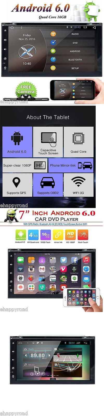 Video In-Dash Units w GPS: 2017 Android 6.0 Hd Wifi 2 Din Car Head Unit Stereo Radio Dvd Player Gps Navi 3G -> BUY IT NOW ONLY: $228.98 on eBay!