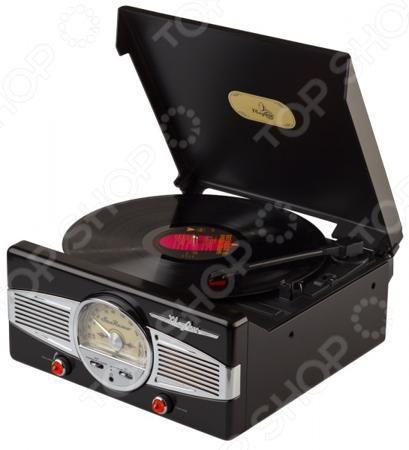 Playbox PB-101  — 9000 руб. —  Ретро-проигрыватель виниловых пластинок Playbox PB-101 станет чудесным подарком для истинных меломанов и ценителей музыкального искусства. Ни для кого не секрет, что грампластинки это не просто дань ретро-моде и предмет собирательства многих коллекционеров, но еще и прекрасная возможность насладиться всей насыщенностью и глубиной звучания, что не под силу ни одному из цифровых аудионосителей. Проигрыватель выполнен в стильном ретро дизайне и снабжен…