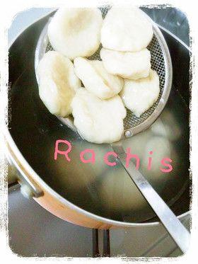 すいとん Japanese gnocchi (kind of) made of the flour