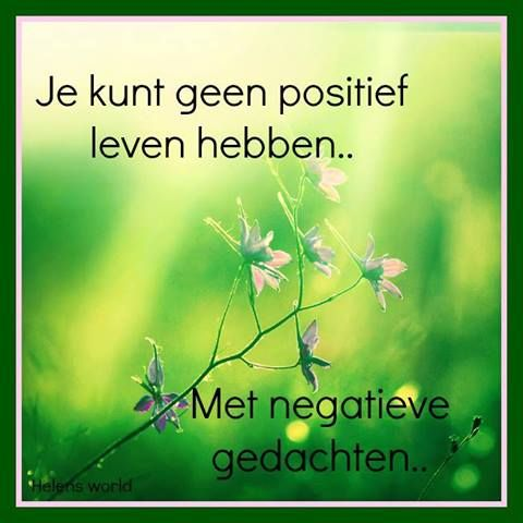 positief negatief