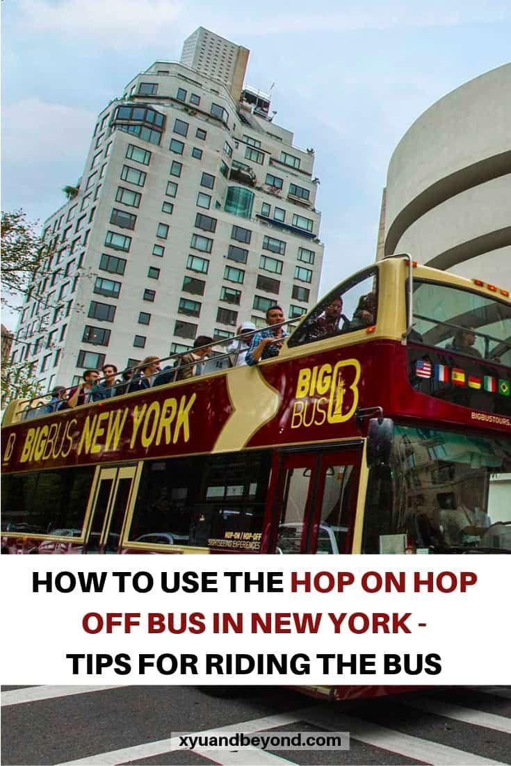 The Beyond Entertaining New York Hop On Hop Off Bus Bus Travel