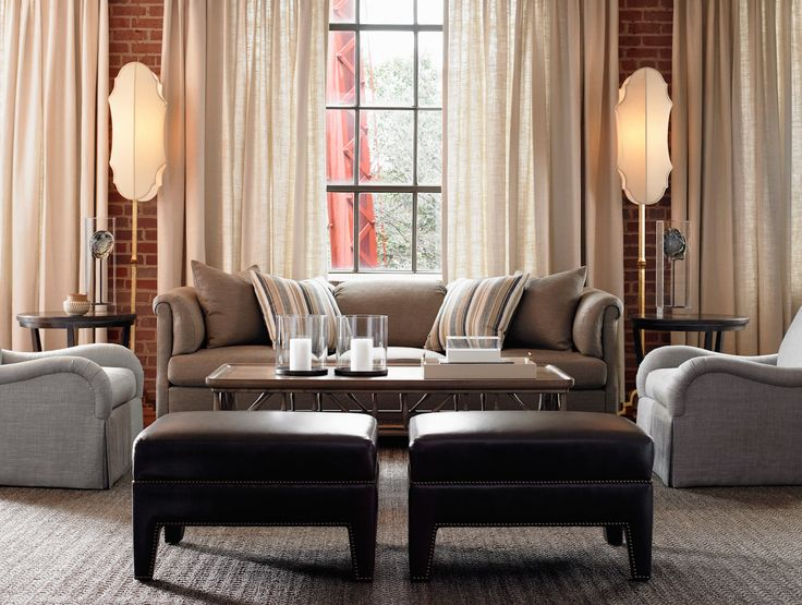www.goodshomefurn... Hickory Chair Custom Sofas & Loveseats. Great styling. Special custom orders are welcome. See our new Hickory Chair Furniture in our Charlotte NC showroom.
