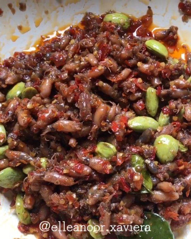 Resep Sambal Baby Cumi : resep, sambal, Sambal, Resep, Masakan,, Daging