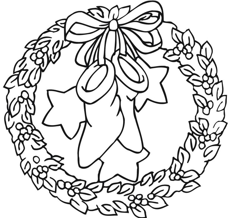 83 besten Coloring: Christmas Mandalas & Wreaths Bilder auf ...