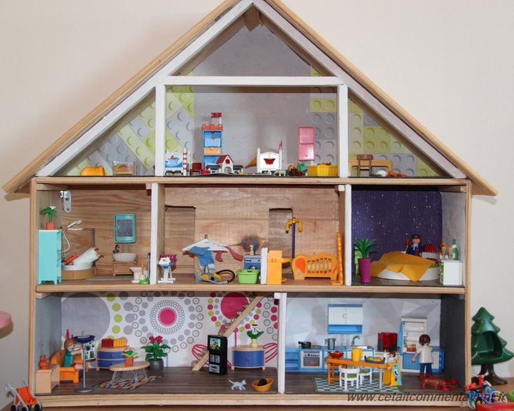 14 best images about maison playmobils on pinterest mansions playmobil and lego. Black Bedroom Furniture Sets. Home Design Ideas
