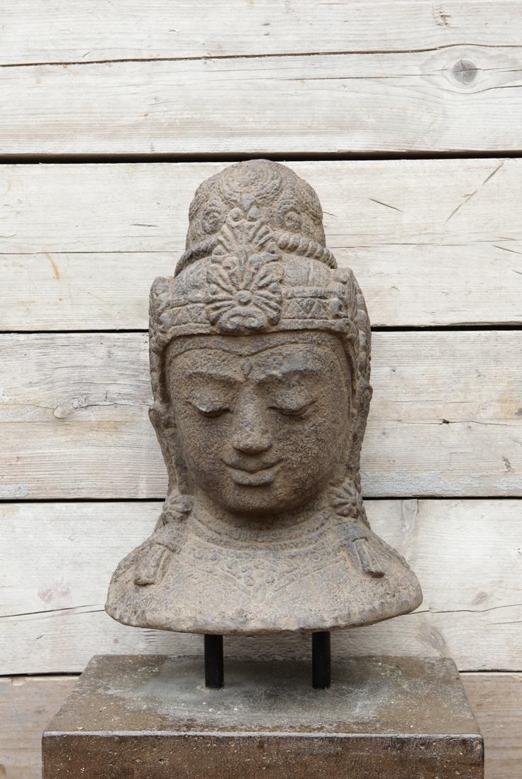 Beeld buddha boeddha van cement uit bali breng mindfulness in uw huis met mindfulhome www - Beeld van eigentijds huis ...