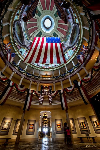 The rotunda of the Old St. Louis Courthouse (STL Pin of the Day, 6/13/2014).