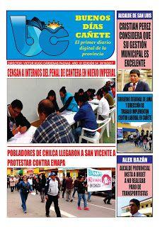 buenosdiascanete.blogspot.com: Diario digital BUENOS DIAS CAÑETE, edición 20/10/1...