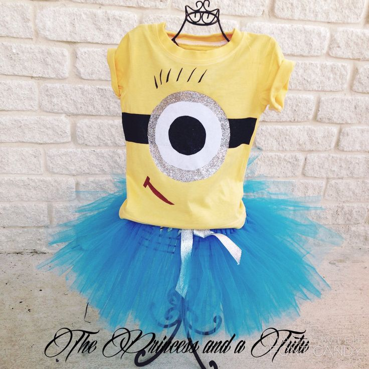 A personal favorite from my Etsy shop https://www.etsy.com/listing/259817014/minion-outfit-minion-tutu-set-minions