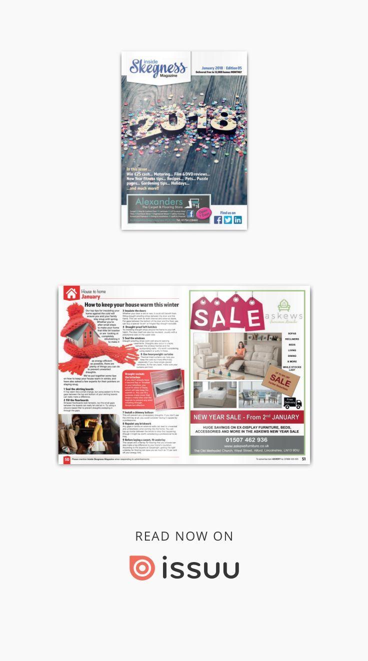 "Inside Skegness magazine - January 2018  ""Inside Skegness Magazine"" - Parts of ""Inside Lincs Magazines"" view them on-line at our web site: www.insidelincs.co.uk  ""Inside Magazines"""