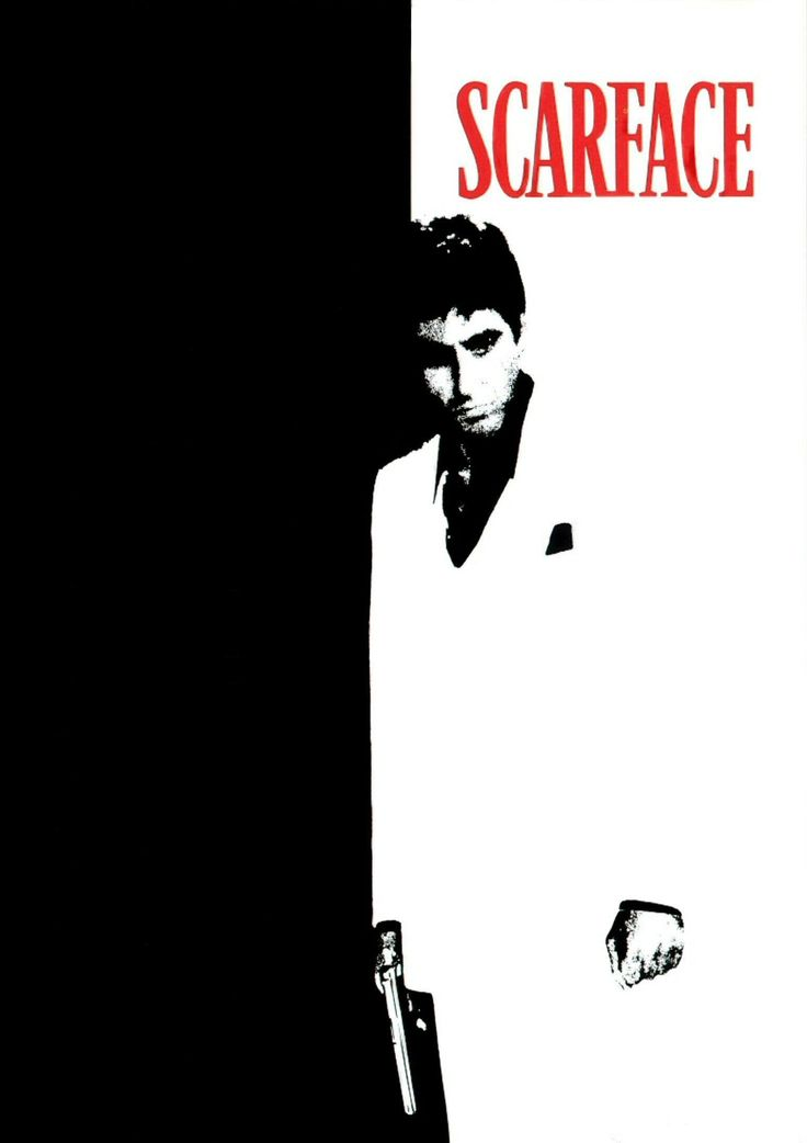 Scarface is a 1983 American cult hit crime film directed by Brian De Palma, written by Oliver Stone, produced by Martin Bregman and starring Al Pacino as Tony Montana.
