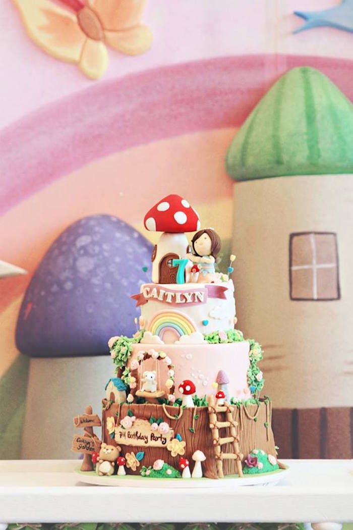 17 Best Images About Fairy Birthday Party Ideas On
