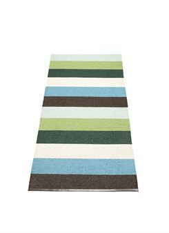 Woven plastic Swedish rug - My Mormor always had these in her house.