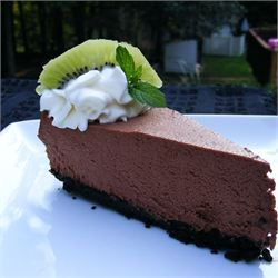 Death by Chocolate Mousse  The very BEST chocolate mousse pie!