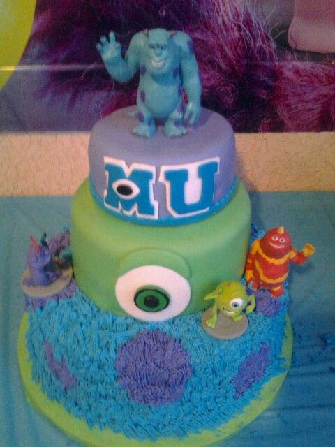 29 best images about Monsters University Cake on Pinterest ...