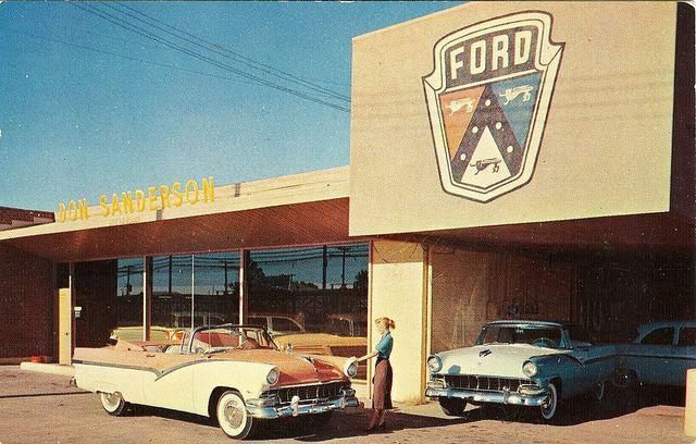 San Jose Car Dealerships >> Don Sanderson Ford, Glendale AZ, 1956 | Photos and Ford