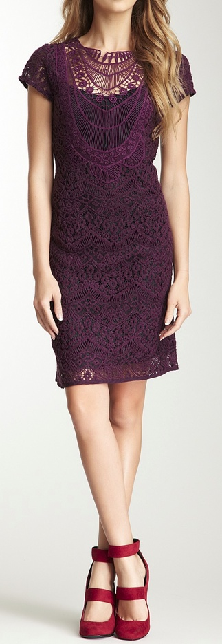 Romantic lace dress