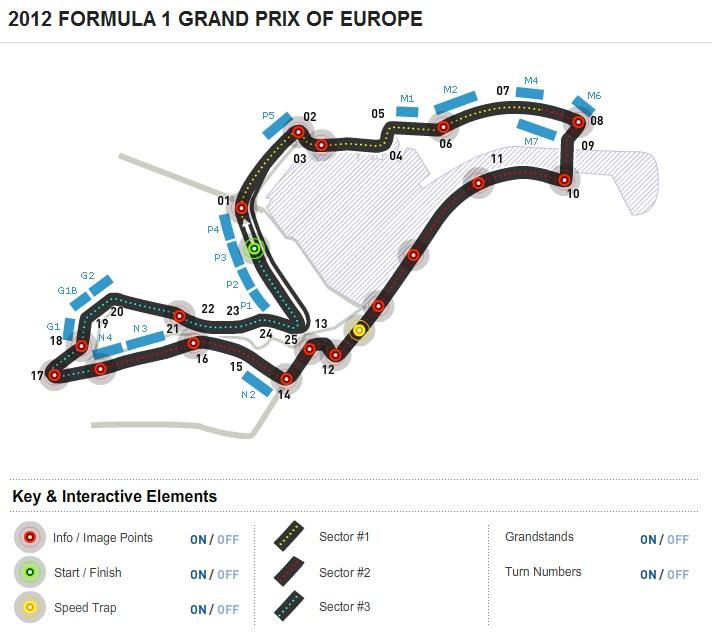 2012 FORMULA 1 GRAND PRIX OF EUROPE