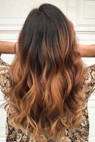 53 Les plus chaudes idées de cheveux bruns au caramel Ombre Ha + # Marron # brünettes #Caramel #Color #Cheveux # Le plus chaud