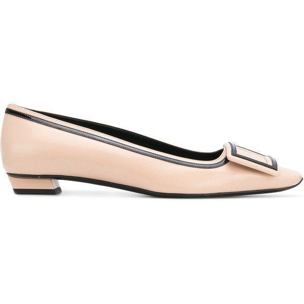 98d8e3c13ecf Roger Vivier Belle Vivier Ballet Flat (€965) ❤ liked on Polyvore featuring  shoes