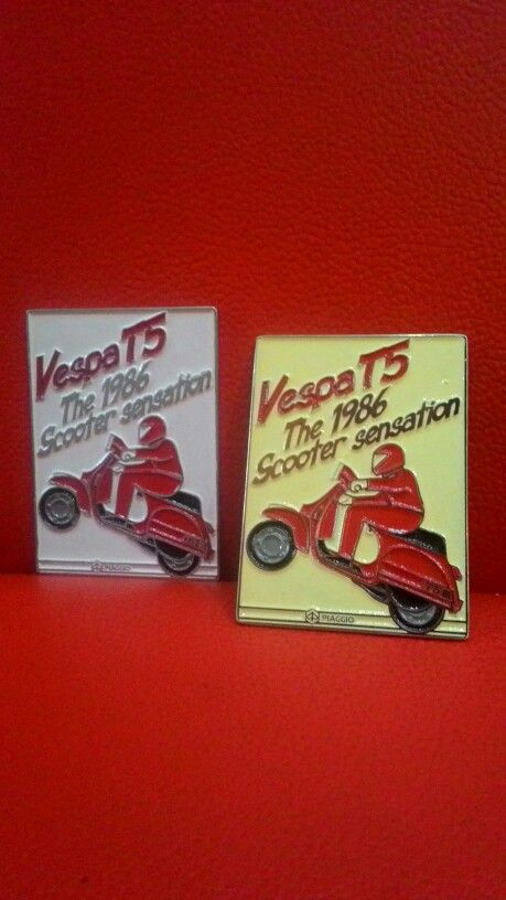 Vespa Badge Polepositions T5