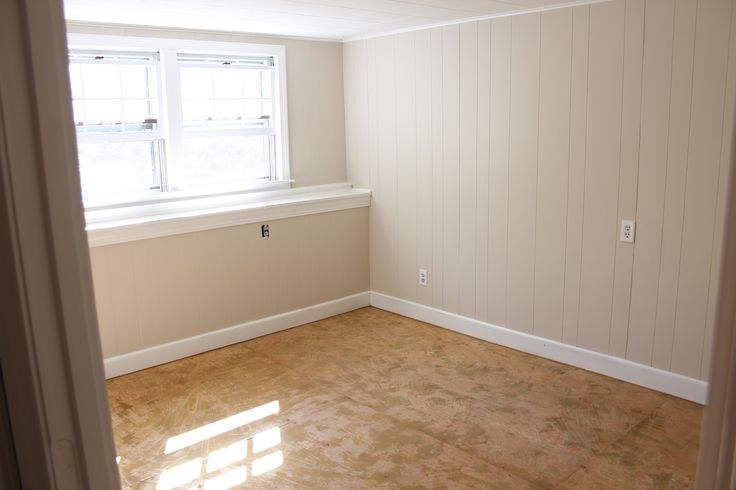 paint paneling before and after | and after - bright and cheerful.