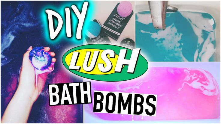 diy lush bath bombs! the girl in this video is really descriptive and she's really detailed so you can follow the steps easily - can't wait to make my own! #lush #bath bombs