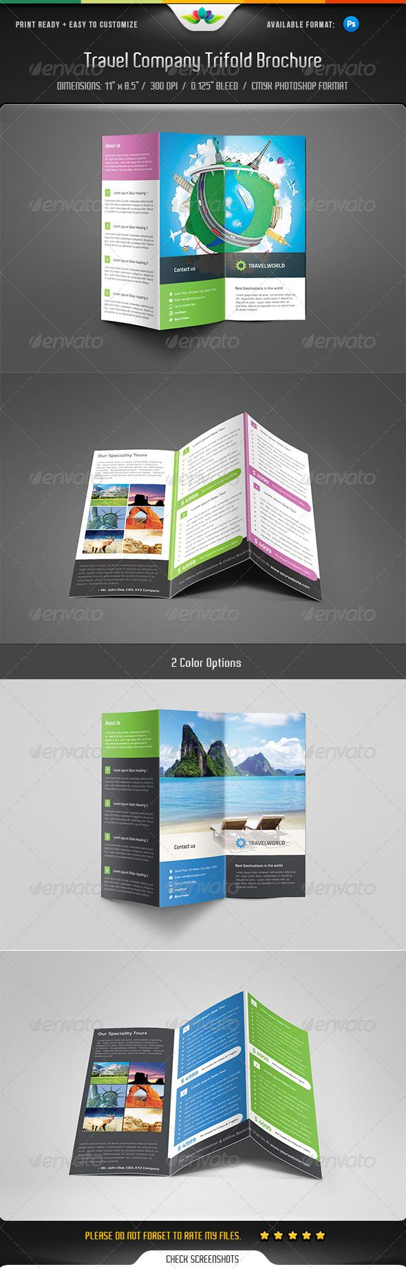 Best Zfold Brochure Inspiration Images On Pinterest - Z fold brochure template