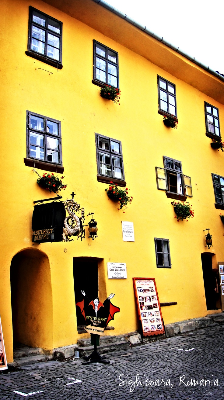 Sighisoara, Romania (2012)    Vlad Dracula's House - Brewery & Restaurant