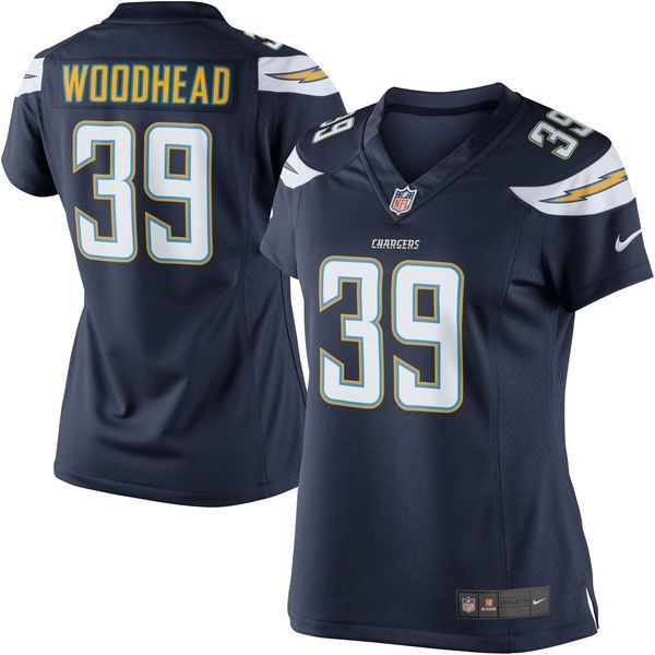 Danny Woodhead Los Angeles Chargers Nike Women's Limited Jersey Ð Navy Blue - $84.99