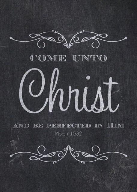 .creating my life.: {2014 MUTUAL THEME PRINTABLES} Come Unto Christ