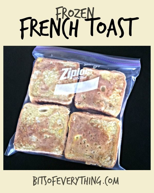 Bits of Everything: French Toast!