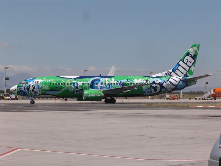 special painted plane | History of old Kulula flight specials