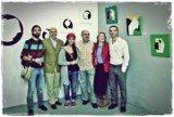 con Nicholas Chandler, Guillermo López de Ahumada, Sarah Brindley e Ignacio Sánchez.