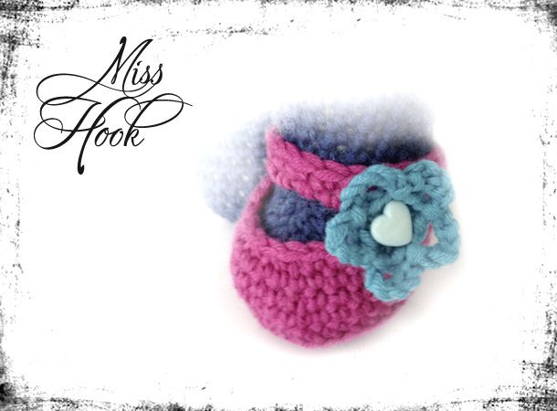 Amigurumi Shoe Tutorial : Shoes for lalylala - free pattern and instructions ...