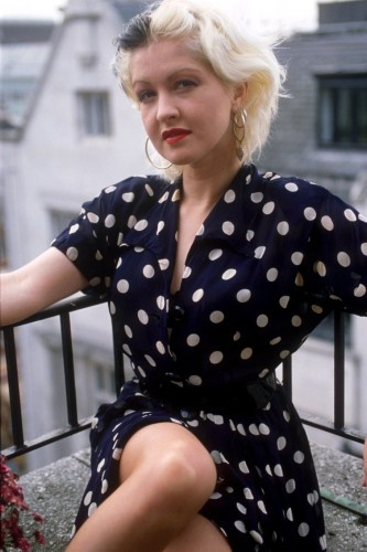 "Cyndi Lauper, 1989-Singer famous for the song,""Girls Just Want To Have Fun""."